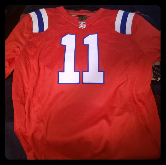 Brand new New England Patriots Edelman Jersey. NWT. Nike 4199ae307